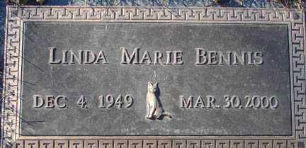 BENNIS, LINDA MARIE - Minnehaha County, South Dakota | LINDA MARIE BENNIS - South Dakota Gravestone Photos