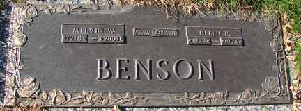 BENSON, HELEN R. - Minnehaha County, South Dakota   HELEN R. BENSON - South Dakota Gravestone Photos