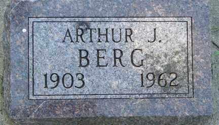 BERG, ARTHUR J. - Minnehaha County, South Dakota | ARTHUR J. BERG - South Dakota Gravestone Photos