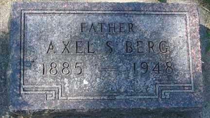 BERG, AXEL S. - Minnehaha County, South Dakota | AXEL S. BERG - South Dakota Gravestone Photos