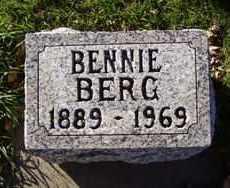 BERG, BENNIE - Minnehaha County, South Dakota   BENNIE BERG - South Dakota Gravestone Photos