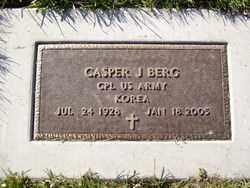 BERG, CASPER - Minnehaha County, South Dakota   CASPER BERG - South Dakota Gravestone Photos