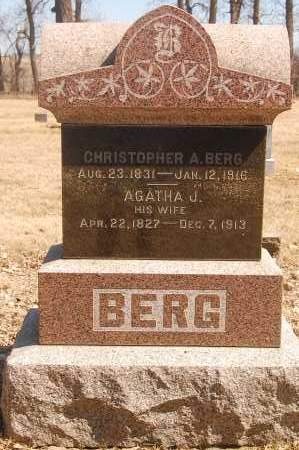BERG, CHRISTOPHER A. - Minnehaha County, South Dakota | CHRISTOPHER A. BERG - South Dakota Gravestone Photos
