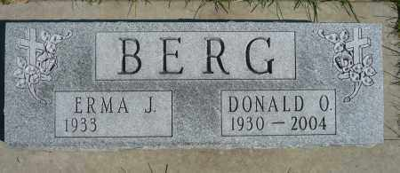 BERG, DONALD O. - Minnehaha County, South Dakota | DONALD O. BERG - South Dakota Gravestone Photos