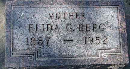 BERG, ELIDA G. - Minnehaha County, South Dakota | ELIDA G. BERG - South Dakota Gravestone Photos