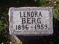 BERG, LENORA - Minnehaha County, South Dakota | LENORA BERG - South Dakota Gravestone Photos