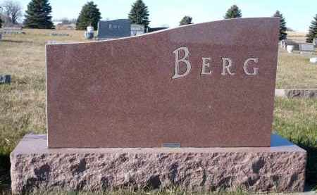 BERG, PALMA - Minnehaha County, South Dakota | PALMA BERG - South Dakota Gravestone Photos