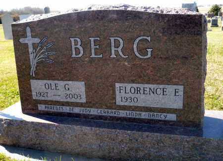 BERG, OLE G. - Minnehaha County, South Dakota   OLE G. BERG - South Dakota Gravestone Photos