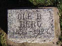 BERG, OLE B. - Minnehaha County, South Dakota | OLE B. BERG - South Dakota Gravestone Photos