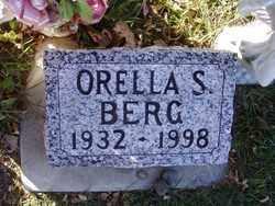 BERG, ORELLA S. - Minnehaha County, South Dakota   ORELLA S. BERG - South Dakota Gravestone Photos
