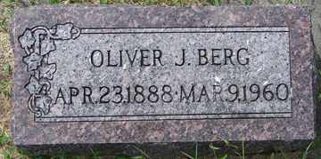 BERG, OLIVER J. - Minnehaha County, South Dakota | OLIVER J. BERG - South Dakota Gravestone Photos