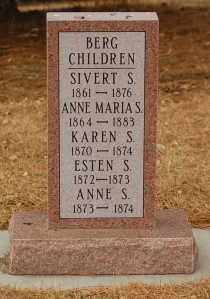 BERG, ANNE MARIA S. - Minnehaha County, South Dakota   ANNE MARIA S. BERG - South Dakota Gravestone Photos
