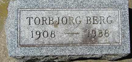 BERG, TORBJORG - Minnehaha County, South Dakota | TORBJORG BERG - South Dakota Gravestone Photos