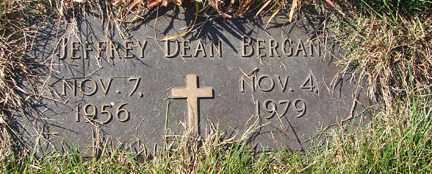 BERGAN, JEFFREY DEAN - Minnehaha County, South Dakota | JEFFREY DEAN BERGAN - South Dakota Gravestone Photos
