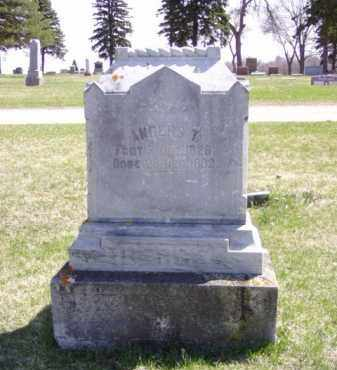 BERGE, ANDERS T. - Minnehaha County, South Dakota | ANDERS T. BERGE - South Dakota Gravestone Photos