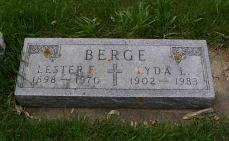 BERGE, LYDA L - Minnehaha County, South Dakota | LYDA L BERGE - South Dakota Gravestone Photos