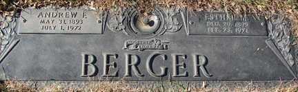 BERGER, ANDREW F. - Minnehaha County, South Dakota | ANDREW F. BERGER - South Dakota Gravestone Photos