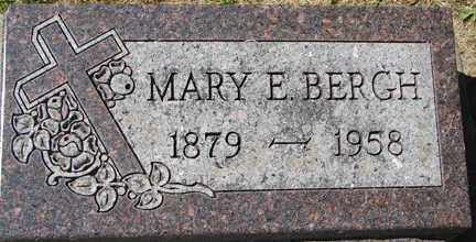 BERGH, MARY E. - Minnehaha County, South Dakota | MARY E. BERGH - South Dakota Gravestone Photos