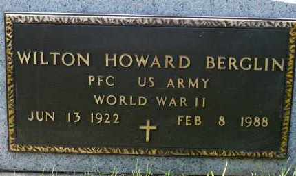 BERGLIN, WILTON HOWARD (WWII) - Minnehaha County, South Dakota | WILTON HOWARD (WWII) BERGLIN - South Dakota Gravestone Photos