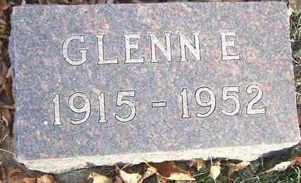 BERGREN, GLENN E. - Minnehaha County, South Dakota | GLENN E. BERGREN - South Dakota Gravestone Photos