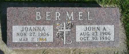 BERMEL, JOANNA - Minnehaha County, South Dakota | JOANNA BERMEL - South Dakota Gravestone Photos