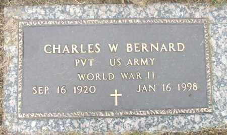 BERNARD, CHARLES WESLEY (WWII) - Minnehaha County, South Dakota   CHARLES WESLEY (WWII) BERNARD - South Dakota Gravestone Photos