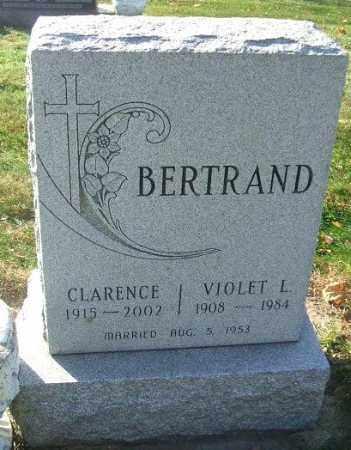 BERTRAND, CLARENCE - Minnehaha County, South Dakota | CLARENCE BERTRAND - South Dakota Gravestone Photos