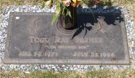 BETHKE, TODD RAY - Minnehaha County, South Dakota   TODD RAY BETHKE - South Dakota Gravestone Photos