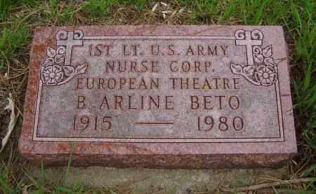 BETO, B. ARLINE - Minnehaha County, South Dakota | B. ARLINE BETO - South Dakota Gravestone Photos