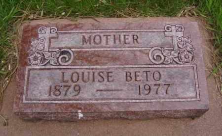 BURG BETO, LOUISE - Minnehaha County, South Dakota | LOUISE BURG BETO - South Dakota Gravestone Photos
