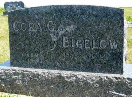 BIGELOW, CORA G. - Minnehaha County, South Dakota | CORA G. BIGELOW - South Dakota Gravestone Photos