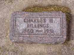 BILLINGS, CHARLES H. - Minnehaha County, South Dakota | CHARLES H. BILLINGS - South Dakota Gravestone Photos