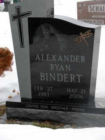 BINDERT, ALEXANDER RYAN - Minnehaha County, South Dakota   ALEXANDER RYAN BINDERT - South Dakota Gravestone Photos