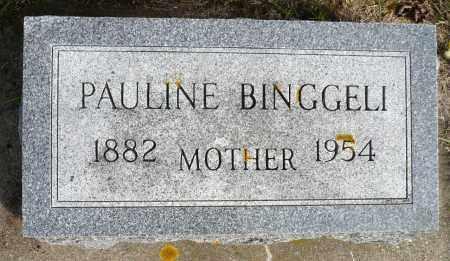 BINGGELI, PAULINE - Minnehaha County, South Dakota   PAULINE BINGGELI - South Dakota Gravestone Photos