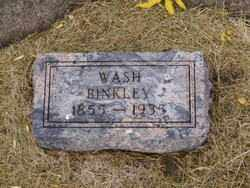 BINKLEY, WASH - Minnehaha County, South Dakota | WASH BINKLEY - South Dakota Gravestone Photos