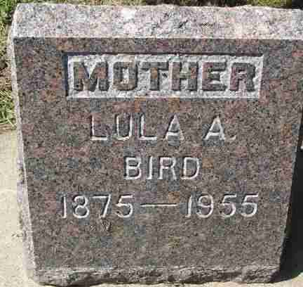 BIRD, LULA A. - Minnehaha County, South Dakota   LULA A. BIRD - South Dakota Gravestone Photos