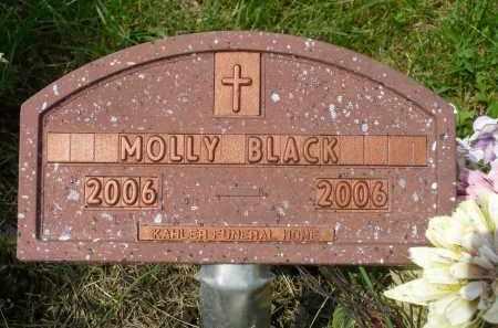 BLACK, MOLLY - Minnehaha County, South Dakota | MOLLY BLACK - South Dakota Gravestone Photos