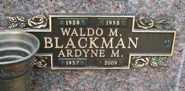 BLACKMAN, ARDYNE M. - Minnehaha County, South Dakota | ARDYNE M. BLACKMAN - South Dakota Gravestone Photos
