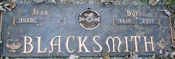 BLACKSMITH, JEAN - Minnehaha County, South Dakota   JEAN BLACKSMITH - South Dakota Gravestone Photos