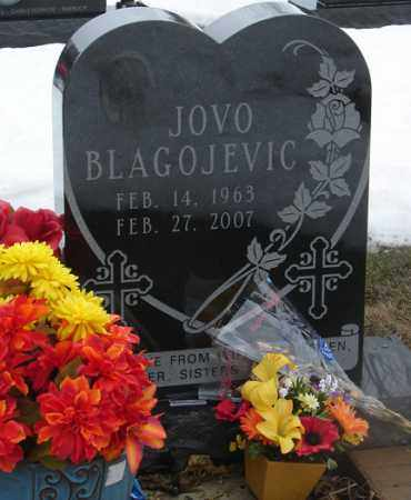 BLAGOJEVIC, JOVO - Minnehaha County, South Dakota | JOVO BLAGOJEVIC - South Dakota Gravestone Photos
