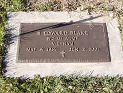 BLAKE, B. EDWARD - Minnehaha County, South Dakota | B. EDWARD BLAKE - South Dakota Gravestone Photos