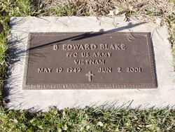 BLAKE, B. EDWARD - Minnehaha County, South Dakota | B. EDWARD BLAKE - South Dakota Gravestone Photos