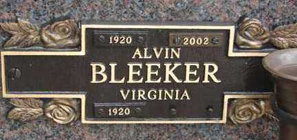 BLEEKER, VIRGINIA - Minnehaha County, South Dakota | VIRGINIA BLEEKER - South Dakota Gravestone Photos