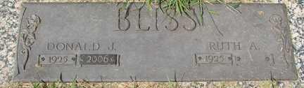 BLISS, RUTH A. - Minnehaha County, South Dakota | RUTH A. BLISS - South Dakota Gravestone Photos