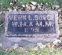 BLOOMENRADER, VERN L. - Minnehaha County, South Dakota | VERN L. BLOOMENRADER - South Dakota Gravestone Photos