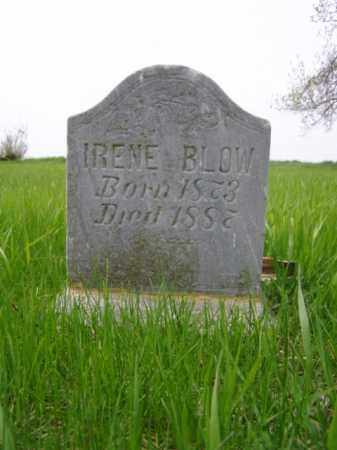BLOW, IRENE - Minnehaha County, South Dakota | IRENE BLOW - South Dakota Gravestone Photos