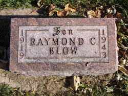BLOW, RAYMOND C. - Minnehaha County, South Dakota   RAYMOND C. BLOW - South Dakota Gravestone Photos