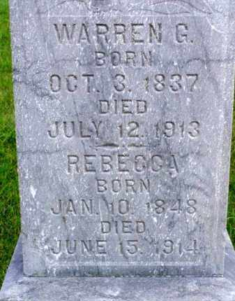 BLOW, WARREN GARDNER - Minnehaha County, South Dakota | WARREN GARDNER BLOW - South Dakota Gravestone Photos