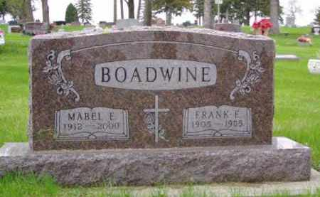 BOADWINE, MABEL ESTHER - Minnehaha County, South Dakota | MABEL ESTHER BOADWINE - South Dakota Gravestone Photos