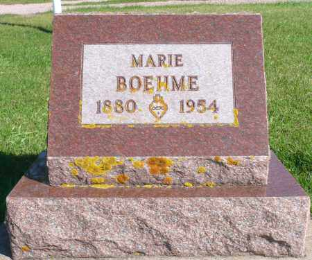 BOEHME, MARIE - Minnehaha County, South Dakota | MARIE BOEHME - South Dakota Gravestone Photos